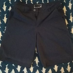Oakley Men's Navy Dark Blue Khaki Shorts